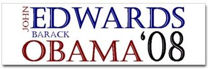 Edwards - Obama